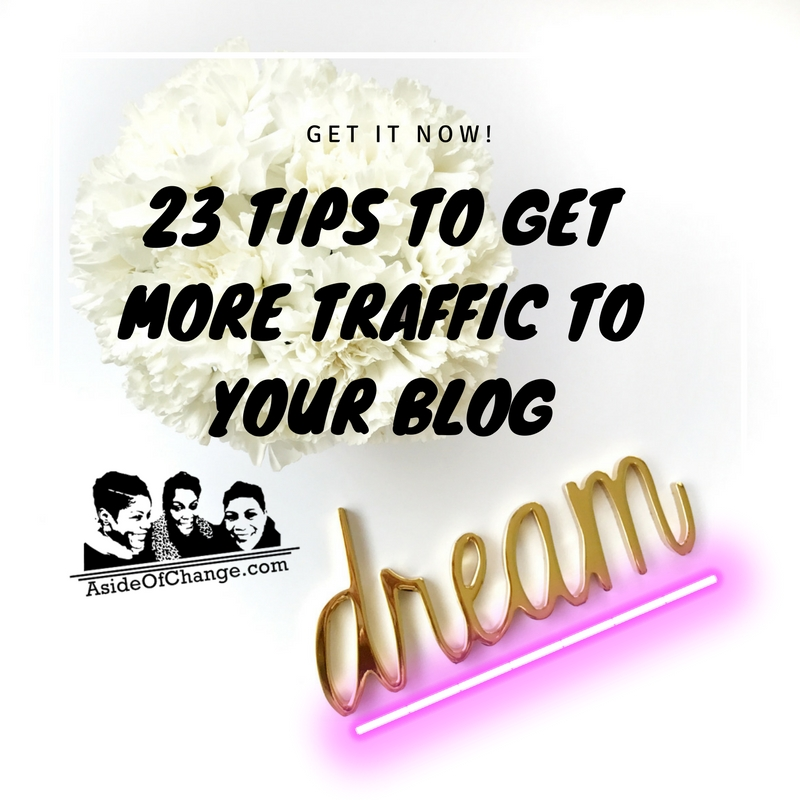 23 tips to get more traffic to your blog by TT