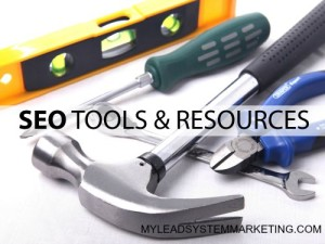 SEO TOOLS and RESOURCES