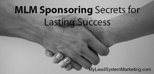 MLM Sponsoring Secrets are Not Really a Secret