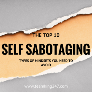 Self Sabotaging