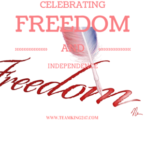 freedom and independence {blog}