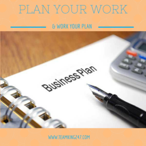 Plan Your Work{blog}