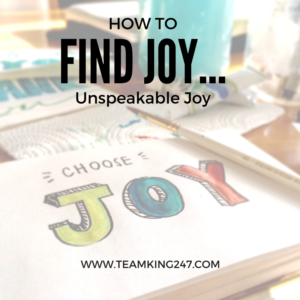 How to Find Joy{blog}