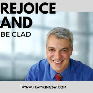 Rejoice and be glad{blog}