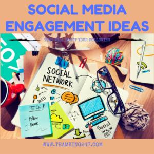Social Media Engagement Ideas{blog}