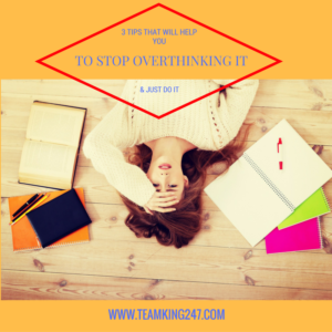 Stop Overthinking It{blog}