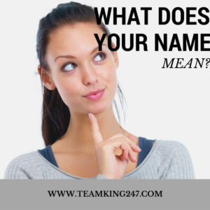What Does Your Name Mean{blog}