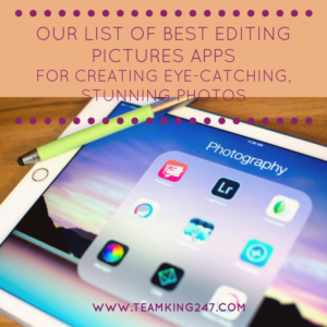 Best Editing Pictures Apps{blog}