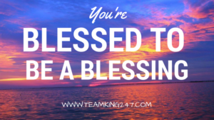 Blessed to be a blessing{blog}