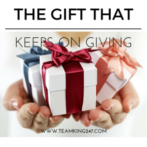 The gift that keeps on giving{blog}