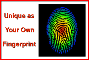 Unique as your own fingerprint