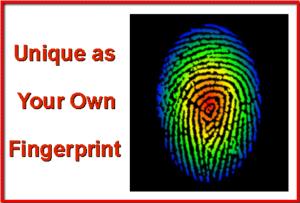 Unique as your own fingerprint