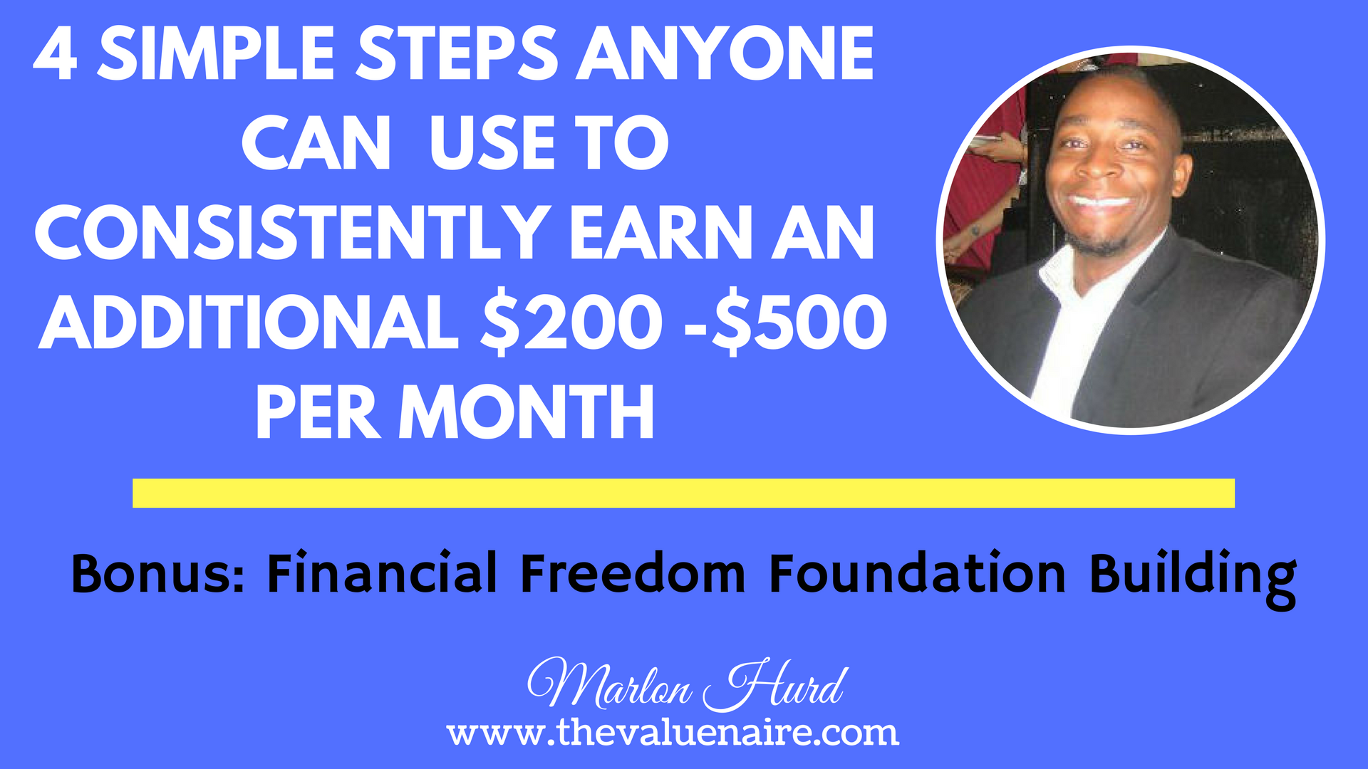 Earn Extra Income Monthly Consistently
