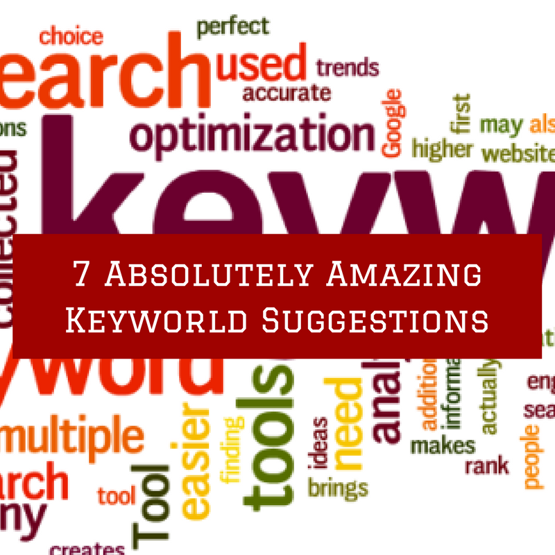 Absolutely Amazing Keyword Search Suggestions