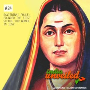 FIRST WOMEN TEACHER IN INDIA